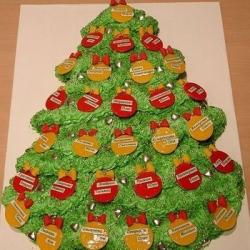 Торт Новогодняя ёлка