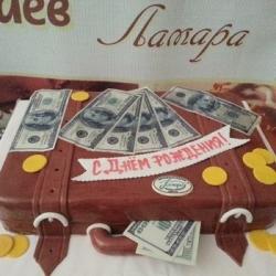 Торт Чемодан с Д.Р