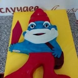 Торт Папа Смурф