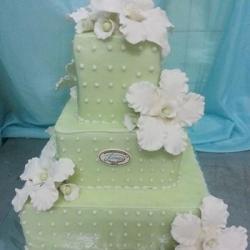 Торт Свадебный фисташковый