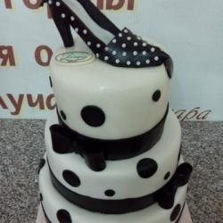 Торт Модница