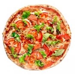 Пицца с Копченой форелью