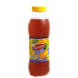 Холодный черный чай Lipton с лимоном 0.5