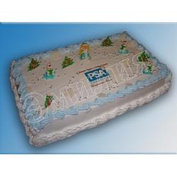 Торт новогодний №9