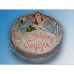 Торт новогодний №3