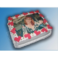 Торт с фото №33
