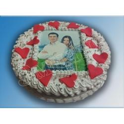 Торт с фото №8