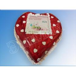 Торт сердечко №19