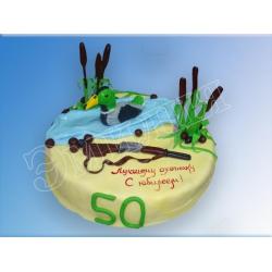 Торт юбилейный №64