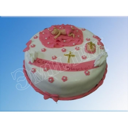 Торт на крестины №9