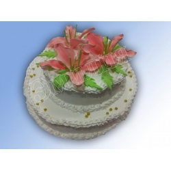 Торт юбилейный №50