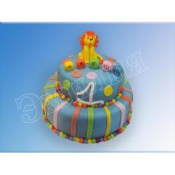 Торт цифра №23