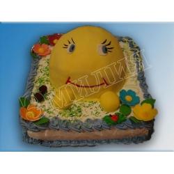 Детский торт №16