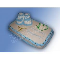 Торт на крестины №4