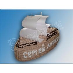Торт корабль №5