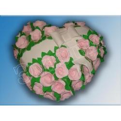 Торт сердечко №4
