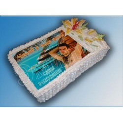 Торт с фото №23