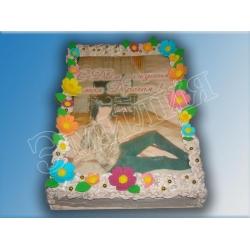 Торт с фото №13