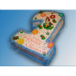 Торт цифра №2
