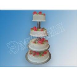 Торт на подставке №16