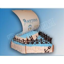 Торт корабль №9