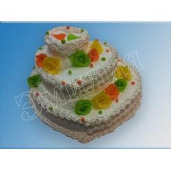 Ярусный тортик №28