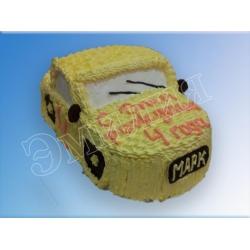 Торт машинка №21