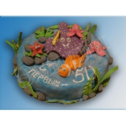 Торт юбилейный №9