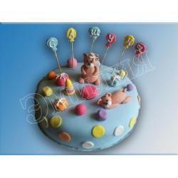 Детский торт №7