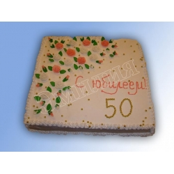 Торт юбилейный №17