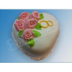 Торт сердечко №13