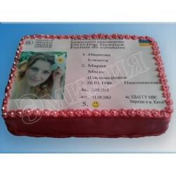 Торт на день рождения №43