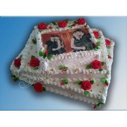 Торт с фото №5