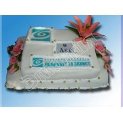 Торт корпоративный №5