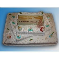 Торт новогодний №2