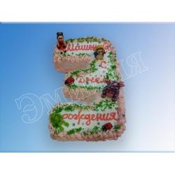 Торт цифра №22