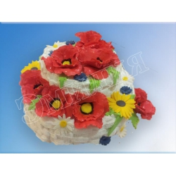 Торт юбилейный №58