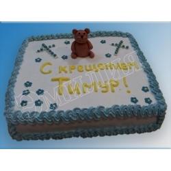 Торт на крестины №8