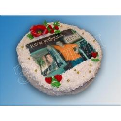 Торт на день рождения №20
