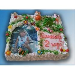 Торт с фото №4