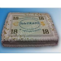Торт корпоративный №42