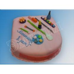 Торт для девочек №17