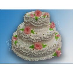 Торт на подставке №14