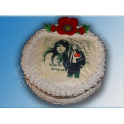 Торт с фото №30