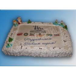 Торт новогодний №12