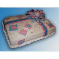 Торт на день рождения №12