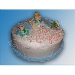 Торт новогодний №4