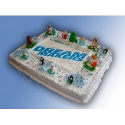 Торт новогодний №16