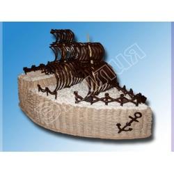 Торт корабль №3