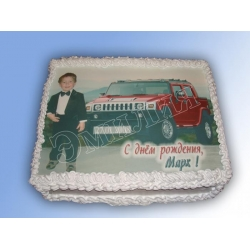 Торт с фото №42